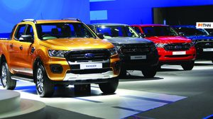Ford Ranger ครองสถิติยอดจองรถกระบะสูงสุดอันดับ 1  ในงาน Motor Expo 2018