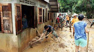 ระดมกำลังช่วยเหลือผู้ประสบภัย พื้นที่น่าน-แพร่ จากเหตุการณ์น้ำป่าไหลหลาก