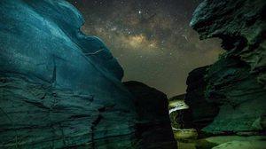 เที่ยวงานพาแลง หาดชมดาว แก่งหินงาม จ.อุบลฯ ไปกินข้าว ดูดาว กลางลานหิน