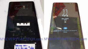 เผยทุกรายละเอียด Galaxy Note 8 ภาพจริงตัวเป็นๆ ก่อนโดนลบหายไป