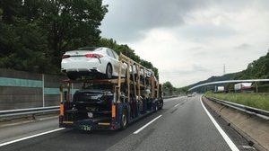 2018 Toyota Camry แอบถ่ายขณะขนส่งใน ประเทศญี่ปุ่น
