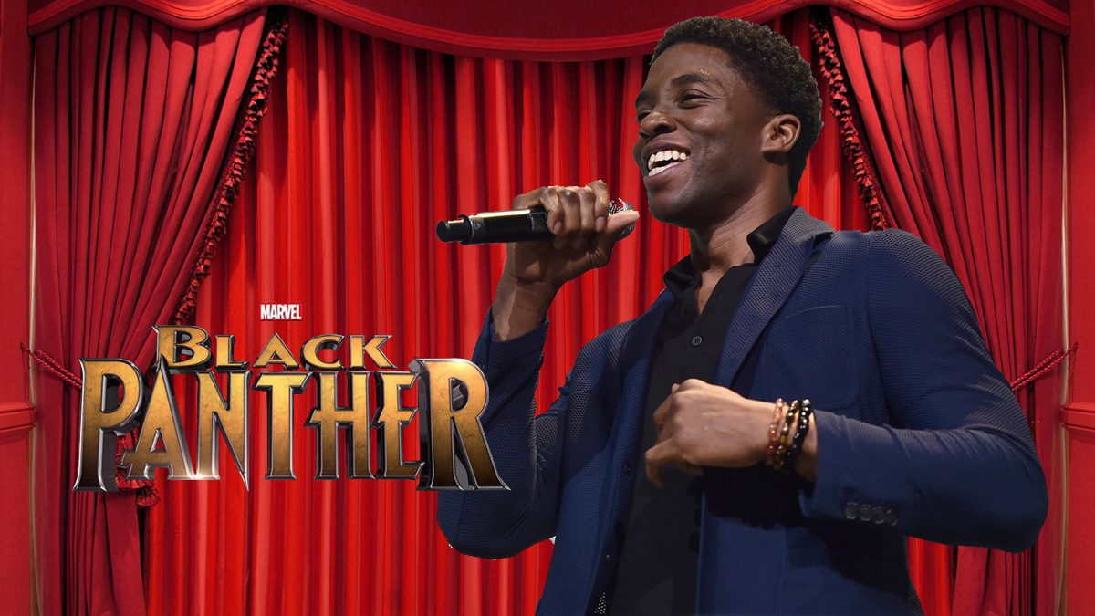 'เจ้าชายทีชาล่า'  จาก 'Black Panther' ร้องเพลงเพราะมาก !