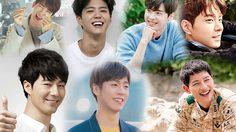 10 อันดับดาราชายเกาหลียิ้มหวาน มีเสน่ห์ มองทีไรใจเต้นตูมตาม