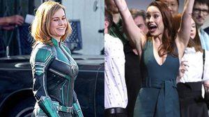 บรี ลาร์สัน โผล่เซอร์ไพรส์แฟนหนัง Captain Marvel หน้าโรงหนังในสหรัฐฯ