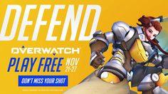 Overwatch เล่นฟรี (อีกแล้ว) 21-27 พฤศจิกายนนี้ ทุกแพล็ตฟอร์ม