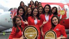 'แอร์เอเชีย' คว้ารางวัลสายการบินราคาประหยัดดีที่สุดในโลก 8 ปีซ้อน