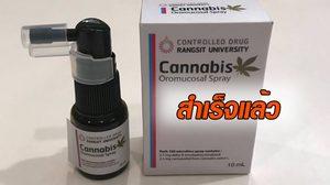 เปิดภาพสเปรย์  Cannabis ยาพ่นบรรเทารักษามะเร็ง ผลสกัดจากกัญชา