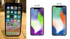 หลุดสเปค iPhone 2018 รุ่นจอ 6.5 นิ้ว จอละเอียดที่สุดเท่าที่เคยมี ใช้ CPU A12