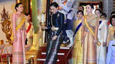 ฉลองพระองค์ผ้าไทย สมเด็จพระนางเจ้าสุทิดา พัชรสุธาพิมลลักษณ พระบรมราชินี