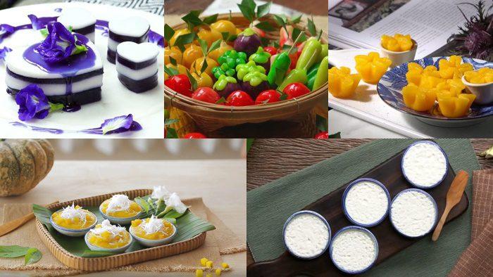รวม 10 สูตรเมนูขนมไทยยอดฮิต ทำกินเองง่ายๆ ที่บ้าน อร่อย ทำขายเพลินๆ