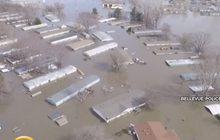 น้ำท่วมเขตมิดเวสต์ของสหรัฐฯ