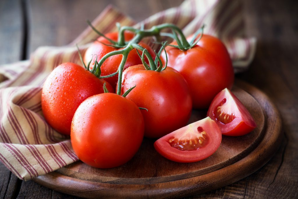 ผักผลไม้สีแดง