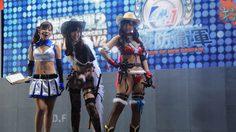 รวมภาพสาวๆ พริตตี้ Cosplay สวยๆ จากงาน Tokyo Game Show 2014
