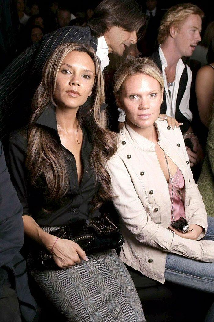 Victoria Beckham กับน้องสาว Louise Adams