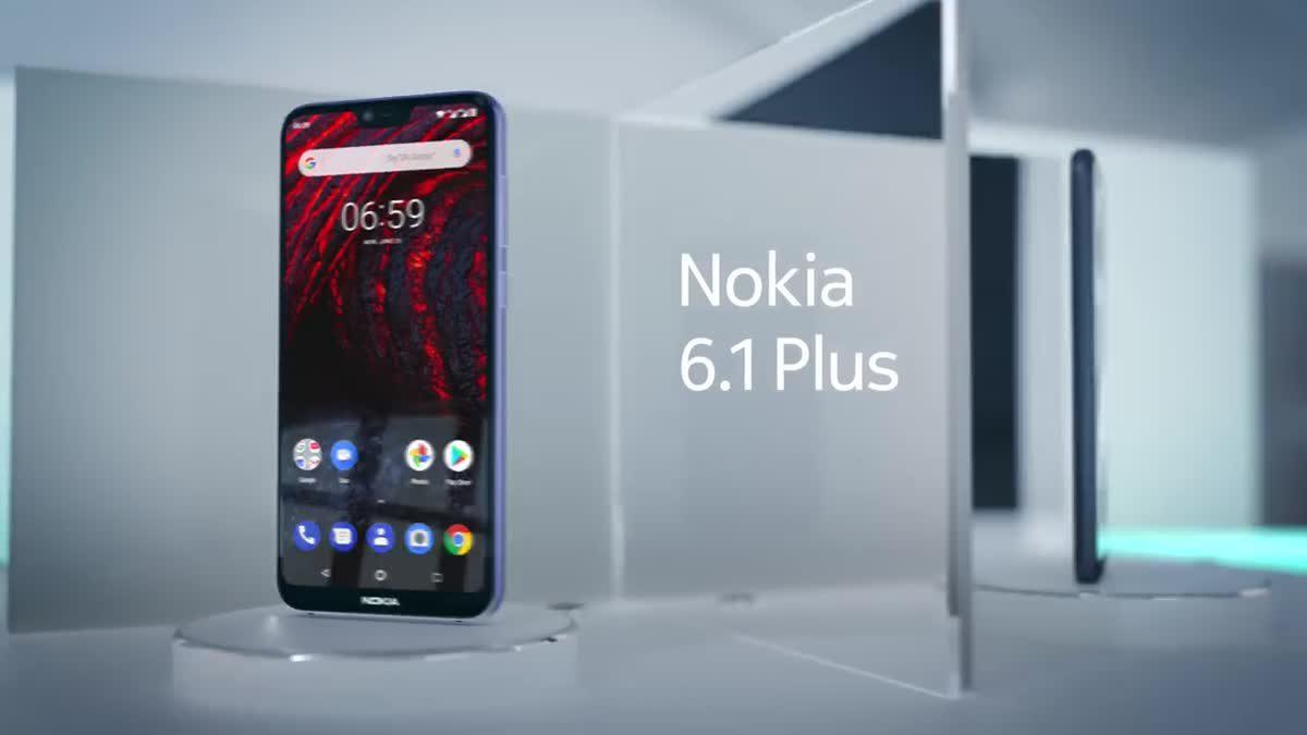 Nokia 6.1 Plus ดีไซน์งดงามเพื่อบอกความเป็นตัวตน