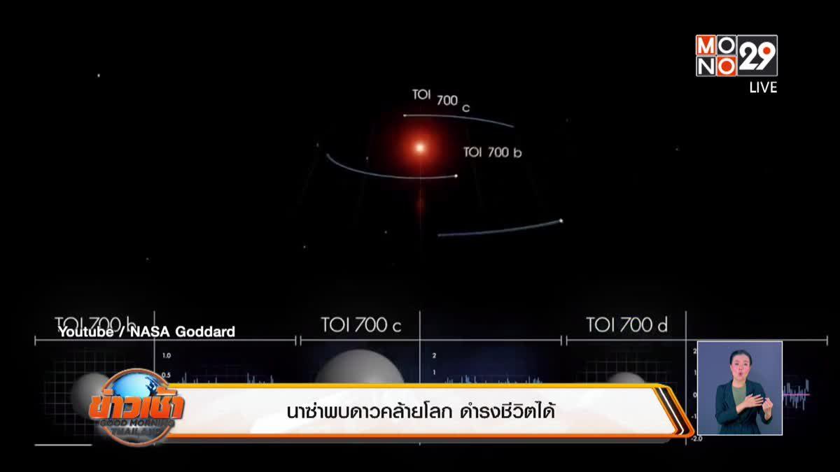 นาซ่าพบดาวคล้ายโลก ดำรงชีวิตได้