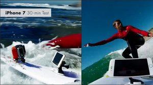 iPhone 7 และ iPhone 7 Plus กับบททดสอบกันน้ำทะเล!! ในเกลียวคลื่นที่มหาสมุทรแฟซิฟิก