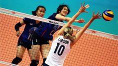 ทีมตบสาวไทย สู้ได้เฉียบแม้พ่าย สหรัฐ 0-3 ส่งท้ายศึกลูกยาง เนชั่นส์ ลีก สนาม 5