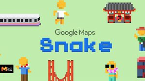Google เปิดให้เล่นเกมงูบน Google Maps รับ April fools Day