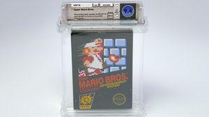 ตลับเกมส์ Super Mario Bros. สภาพซีล ถูกเคาะประมูลไปที่ราคา 3.1 ล้านบาท!!