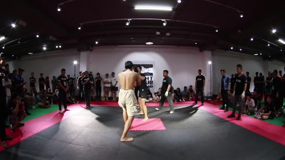 Fight Club Thailand 2017 เอ็ม โซบลู x อามีน บ้านดอน คู่ที่ 224