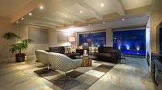 แต่งห้องนั่งเล่นด้วย พรม เพิ่มเสน่ห์ให้ห้องดูสวยโดดเด่นแบบชิคๆ