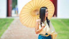 """แต่งชุดไทย ห่มสไบ เดินเล่นย้อนยุคที่ """"เมืองมัลลิกา ร.ศ. 124"""" ที่เที่ยวแห่งใหม่ เมืองกาญฯ"""