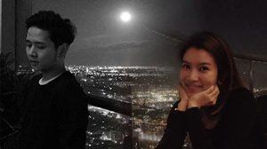 มีความหวาน!!! โต๋ – ไบรท์ ชม Super Full Moon คืนวันลอยกระทง
