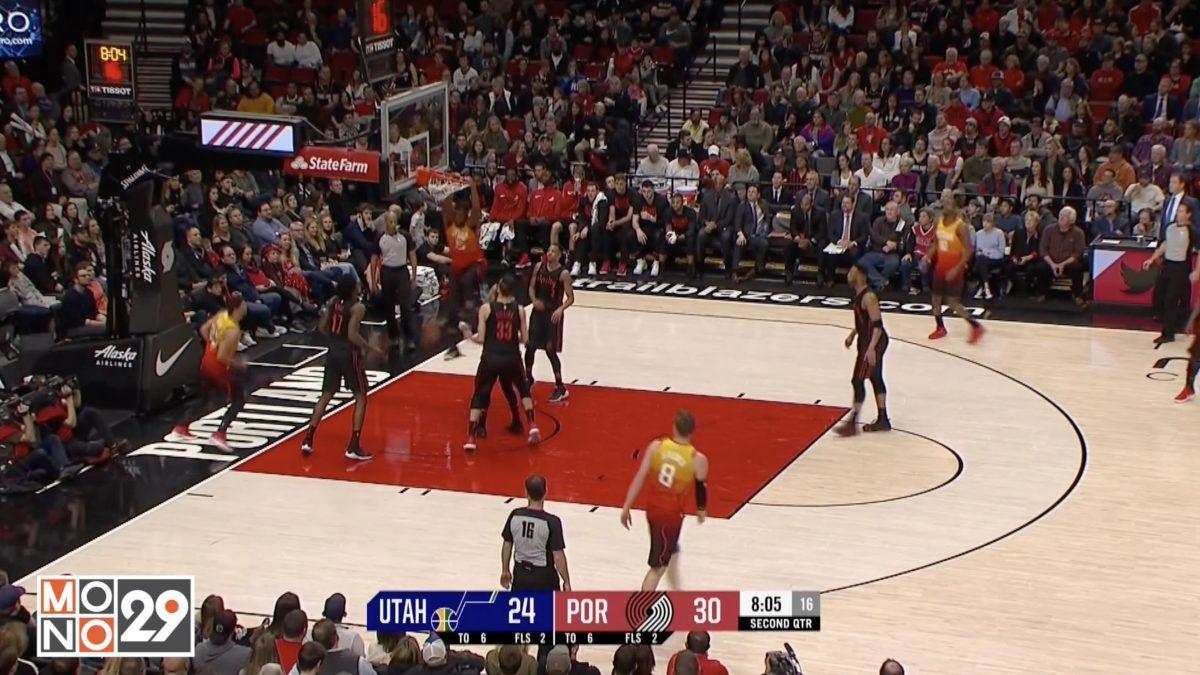 Highlight Utah Jazz VS Portland Trail Blazers