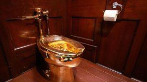 คนร้ายขโมย 'ส้วมทองคำ' จากวังเบลนไฮม์ในอังกฤษ
