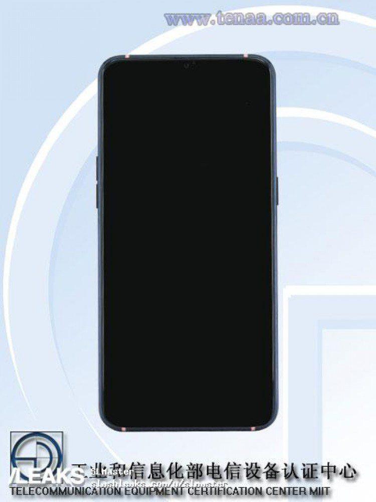 Oppo R17 Pro ด้านหน้า