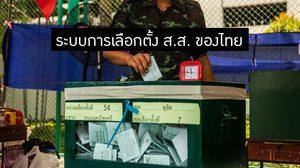 ระบบการเลือกตั้ง ส.ส. ของประเทศไทย