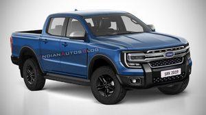 2022 Ford Ranger หน้าหรู กระจังโครเมี่ยม ผลงานเรนเดอร์โดยทีม IAB เจ้าเก่า