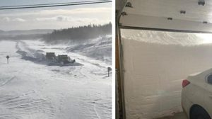 พายุหิมะถล่มแคนาดา