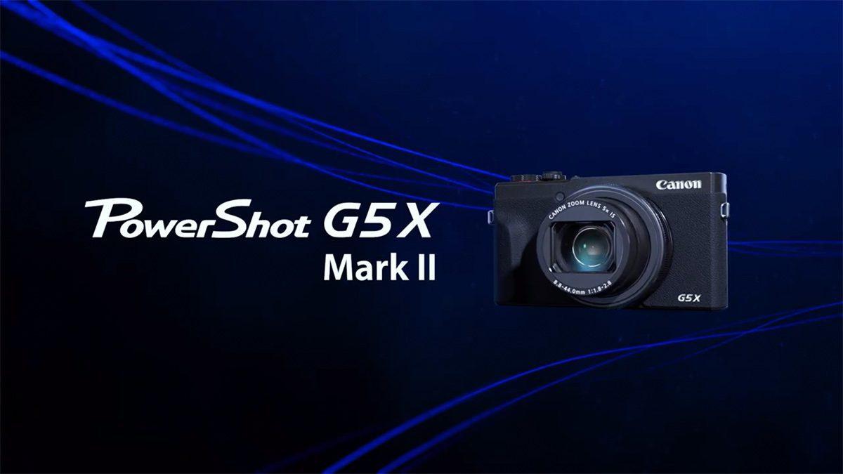 เปิดตัวกล้อง Canon PowerShot G5 X Mark II กล้อง Compact ช่องมองภาพป๊อบอัพ