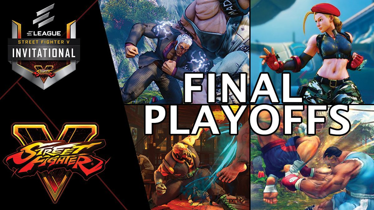 การแข่งขัน Street Fighter V Invitational 2018 | Final Playoffs [1/2]