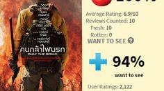 ชนะใจนักวิจารณ์!! 100% เต็ม Only the Brave ความกล้าหาญของนักผจญเพลิงบนเว็บมะเขือเน่า