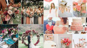 อัปเดต เทรนด์สีงานแต่งงาน ที่มาแรงในปี 2019 แต่งงานทั้งทีจะเอาท์ไม่ได้!