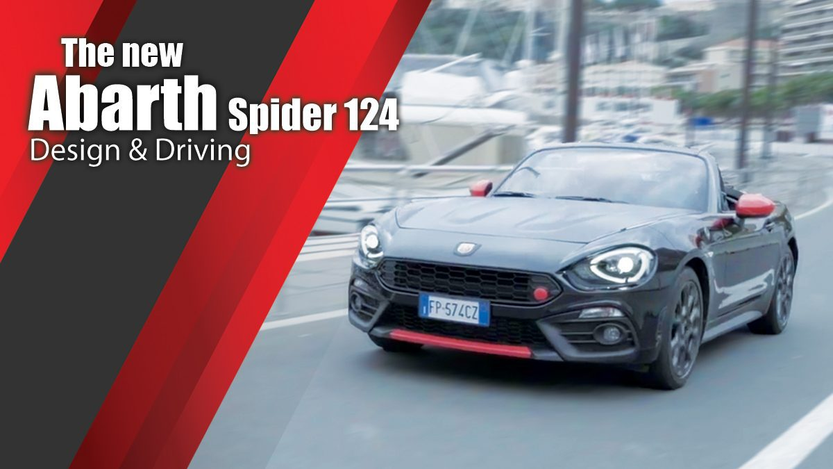 The new Abarth Spider 124 Design & Driving
