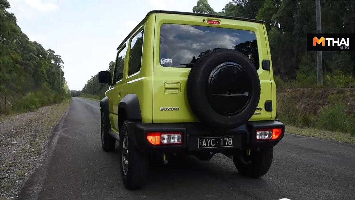 New Suzuki Jimny ทดสอบอัตราเร่ง 0-100 รถยนต์ 4×4 จะทำเวลาได้ดีเเค่ไหน?
