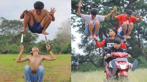 ภาพถ่ายสุดยอดท่าโพสสุดแหวกแนว ฝีมือช่างภาพมือฉมัง Okka Supardan