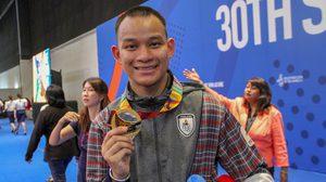 ชลณสัล คว้าทองฟันดาบ ซีเกมส์ ให้ทัพกีฬาไทย หลังชนะคู่แข่ง มาเลเซีย ในรอบชิง