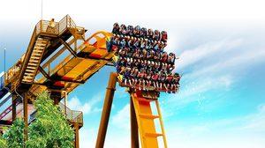 """หวาดเสียว! """"Draken"""" รถไฟเหาะตัวใหม่ที่ สวนสนุก Gyeongju World"""