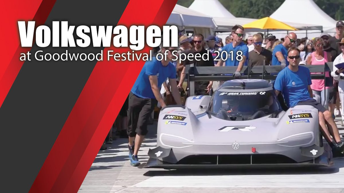 Volkswagen at Goodwood Festival of Speed 2018