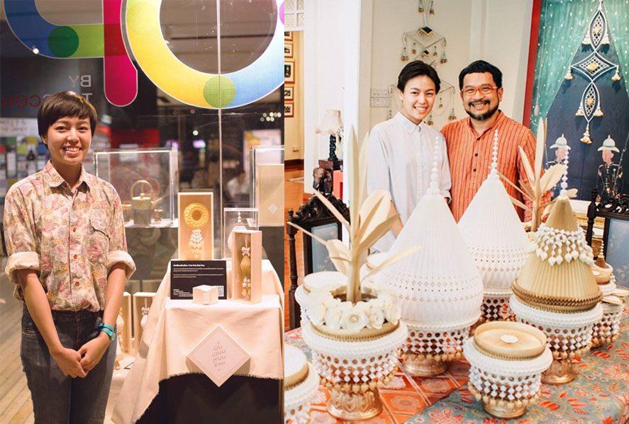 วิริน เชาวนะ - พวงมาลัย พานพุ่ม PaperCraft