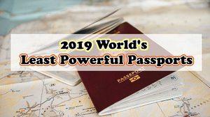 2019 World's Least Powerful Passports