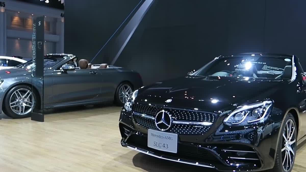 [Eng Sub] เยือนบูธ Mercedes-Benz ยลโฉม E 300 Coupe' ในงาน Motor Show 2017.mp4