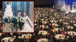 เจ้าภาพโผล่แจงแล้ว งานแต่งสุดอลังการ เชิญแขกกว่า 2,000 คน