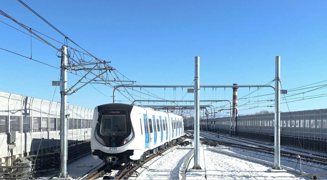 มองโกเลียในเปิดใช้ 'รถไฟใต้ดิน' สายแรก