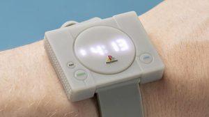 นาฬิกา PlayStation ต้นแบบจากเกมคอนโซลสุดคลาสสิค